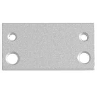Adapterplatte / Adaptionsplatte für Hebelarm Türschließer