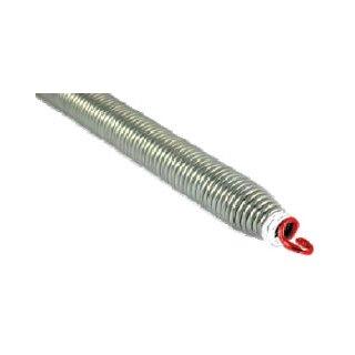 Zugfeder, Spiralzugfeder für Sektionaltore Federtyp GS 12 rot/weiß 1300 mm lang