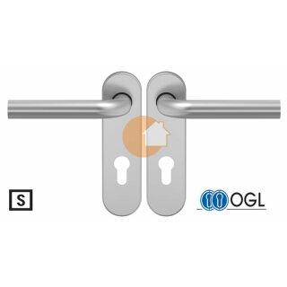 Drückergarnitur Drücker Drücker Profilzylinder Aluminium D210 S OGL