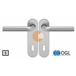 Drückergarnitur Drücker Drücker Buntbart Aluminium D210 S OGL