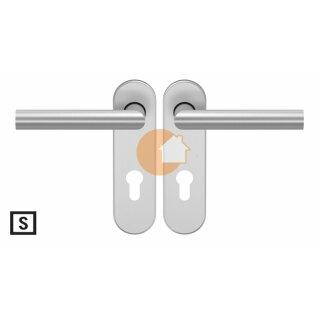 Drückergarnitur Drücker Drücker Profilzylinder Edelstahl D310 S OGL