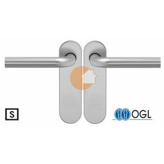 Drückergarnitur Drücker Drücker Blind Aluminium D210 S OGL