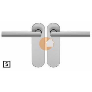 Drückergarnitur Drücker Drücker Blind Aluminium D310 S OGL