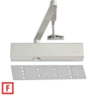 Obentürschließer SET TS83 mit Schließkörper, Hebelarm, Montageplatte