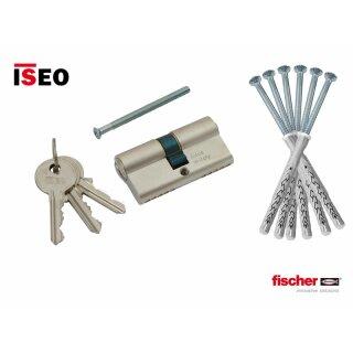 Standard-Paket (Befestigungssatz für 2-flügl. Türen und Profilzylinder 40 40)