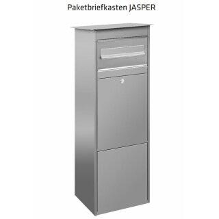Paketbriefkasten JASPER D7000 Paket + Briefeinwurf von Knobloch Edelstahl