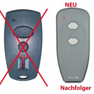 Handsender / Mini-Handsender 2-Kanal 868 MHz für Vorgängermodell  Marantec /Teckentrup
