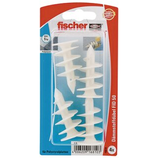 fischer Dämmstoffdübel FID 50 K (4 St.)