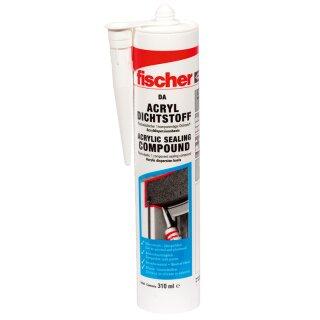 fischer Acryldichtstoff DA 310ml weiß