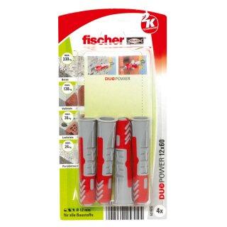 fischer DUOPOWER 12 x 60 (4 Stück)